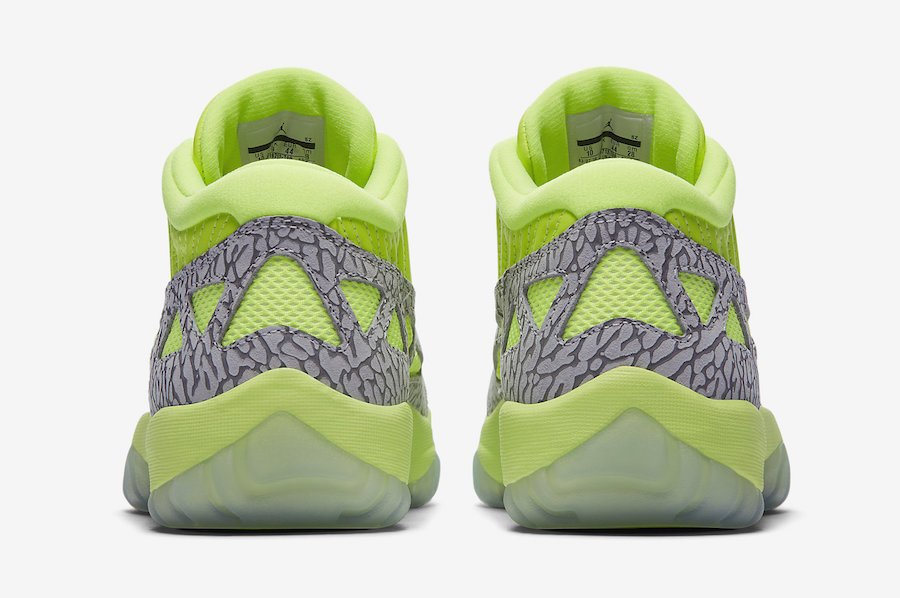 Air Jordan 11 Low IE Volt 919712-700