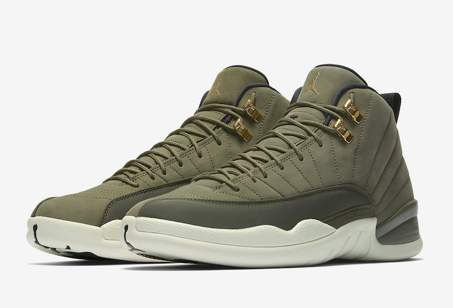 check out a1c07 cdddd Air Jordan 12 CP3 Olive Canvas 130690-301 Release Date ...