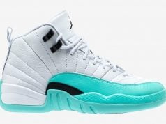 Air Jordan 12 Light Aqua 510815-100