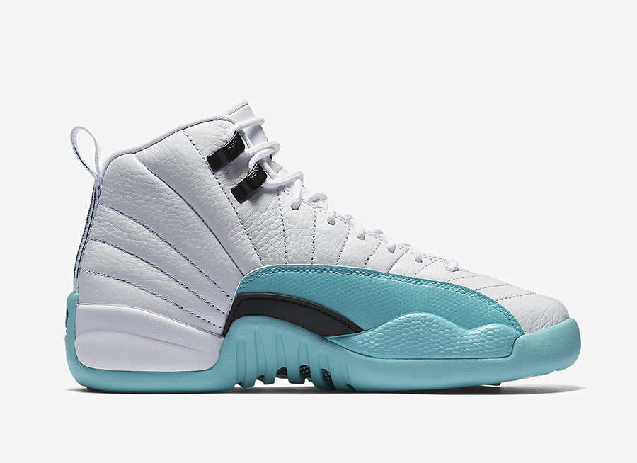 newest bc838 ea2ed Air Jordan 12 Light Aqua 510815-100 Release Date