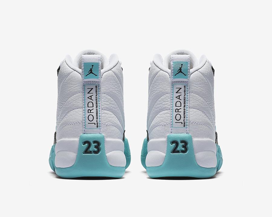 Air Jordan 12 Light Aqua 510815-100 Release Date