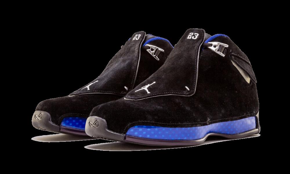 Air Jordan 18 Black Sport Royal AA2494-007 2018