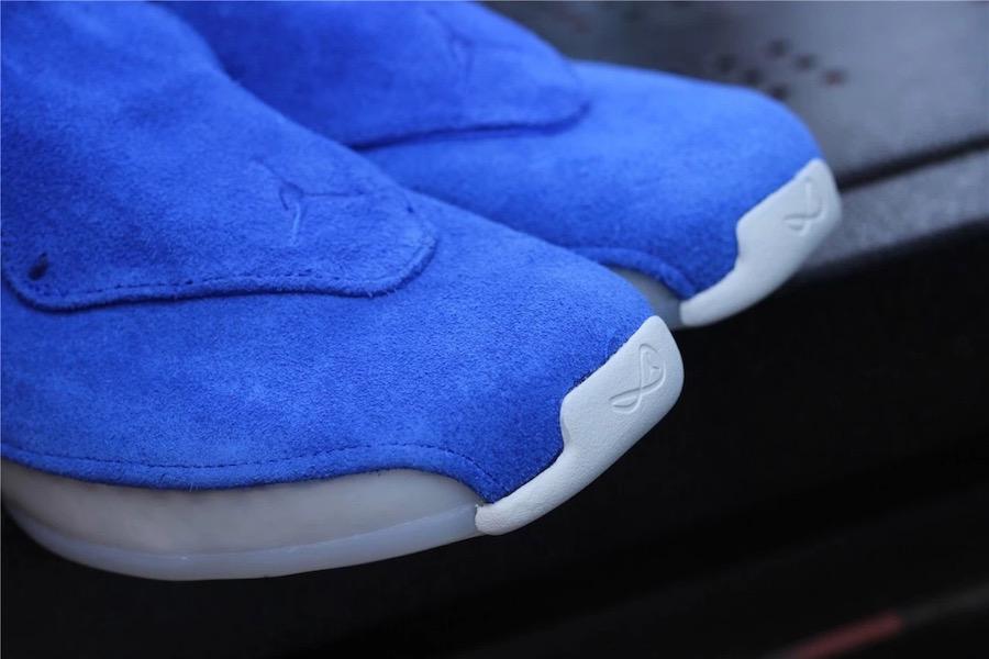 Air Jordan 18 Blue Suede AA2494-401 Release Date