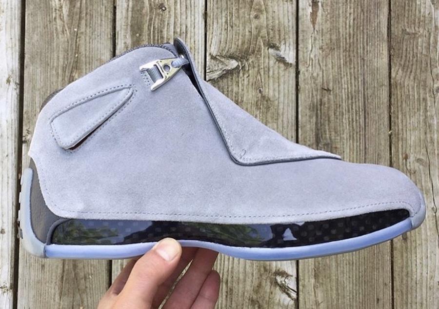 Air Jordan 18 Cool Grey