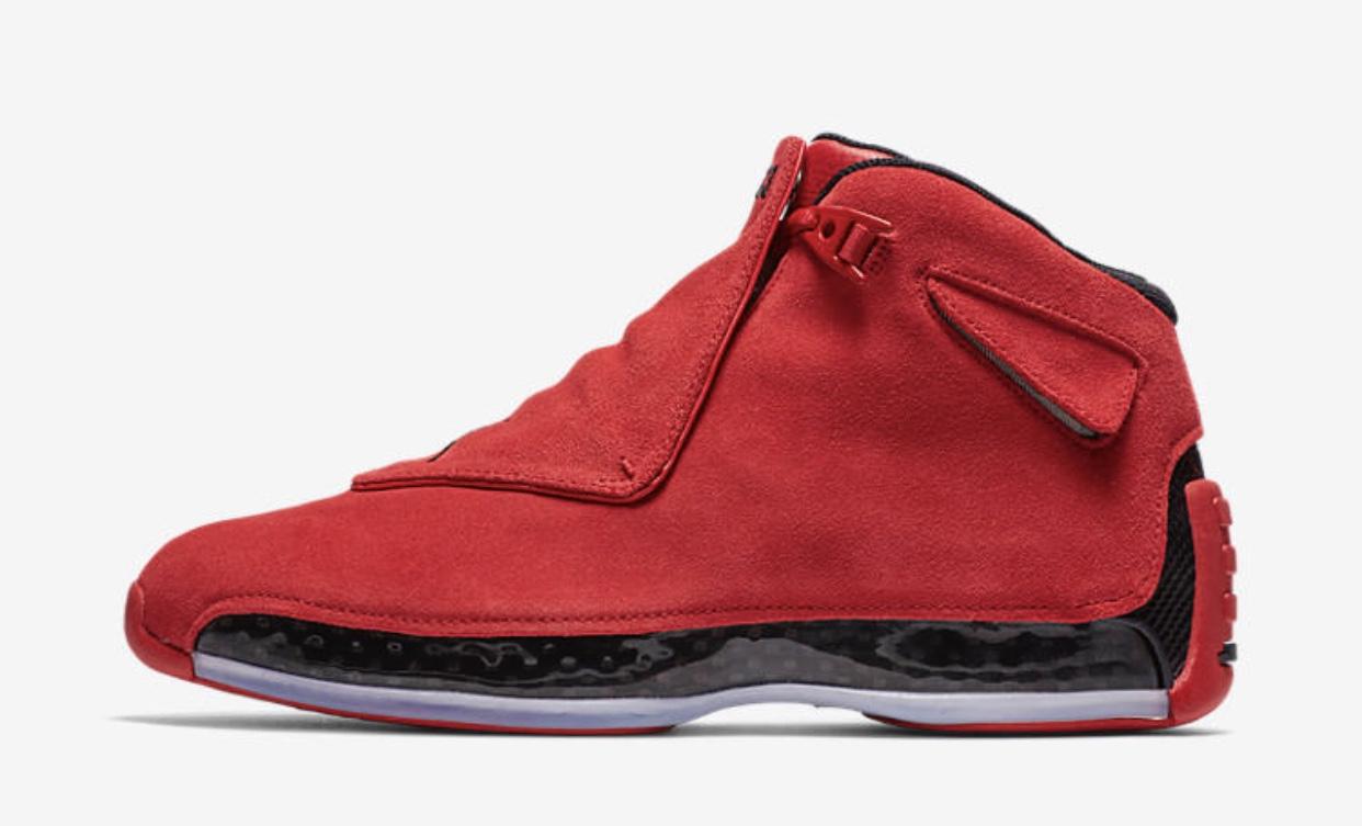 Air Jordan 18 Gym Red Restock