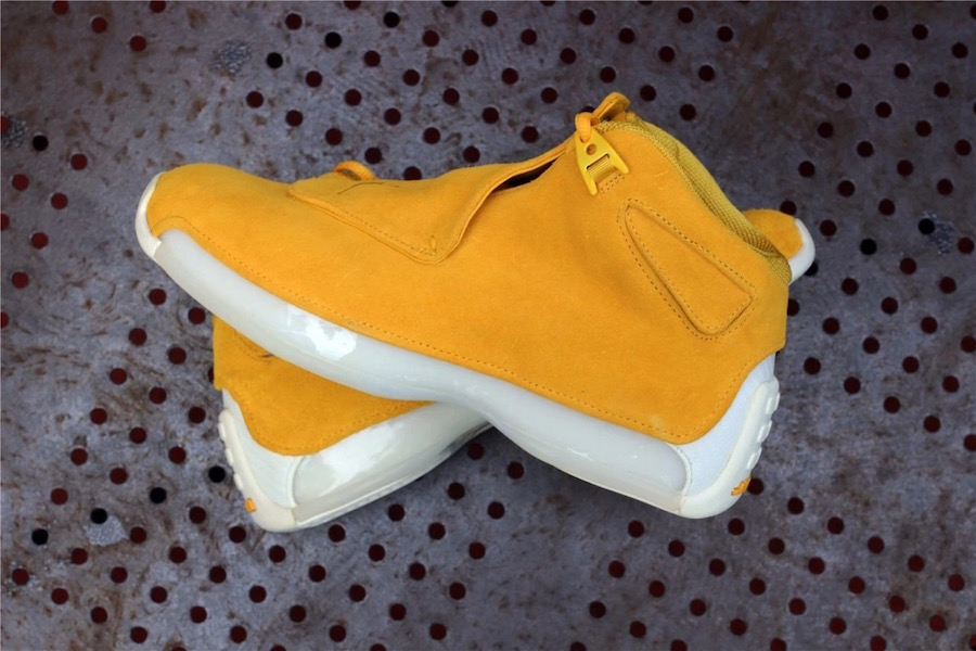 Air Jordan 18 Yellow Suede AA2494-701 Release Date