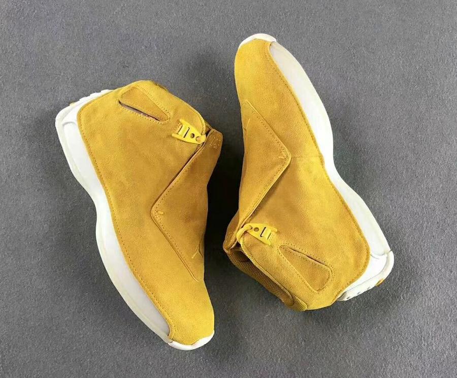 Air Jordan 18 Yellow Suede AA2494-701