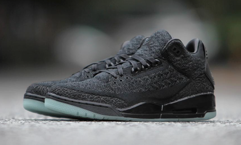 Air Jordan 3 Flyknit Black Anthracite AQ1005-001 Release Date
