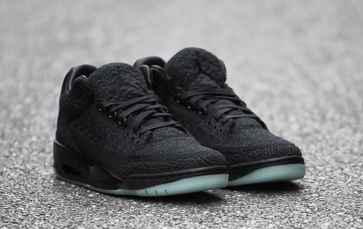 detailed look de023 3358c Air Jordan 3 Flyknit Black AQ1005-001 Release Info ...