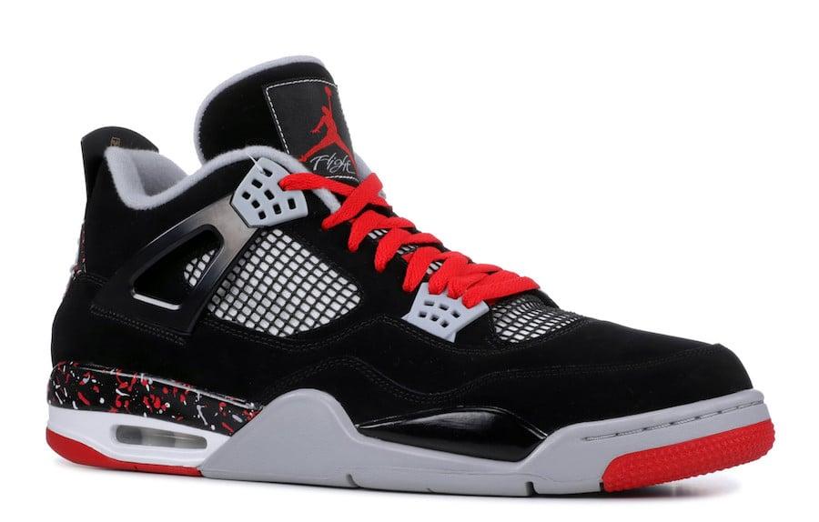cfe66797892 Air Jordan 4 Splatter Nike Air Release Date
