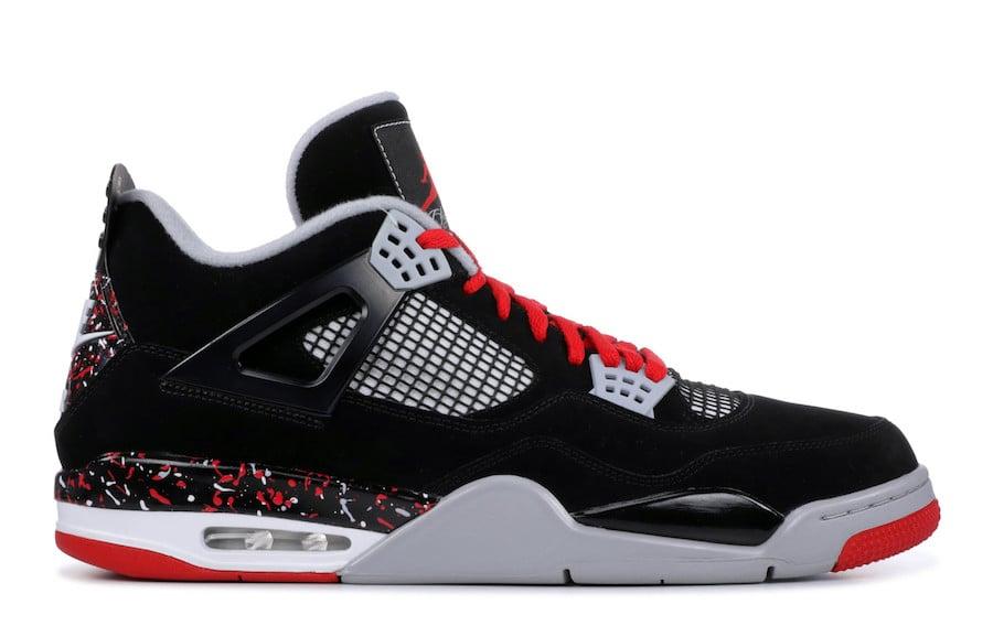 Air Jordan 4 Splatter Nike Air Release Date  8dd77a2d1