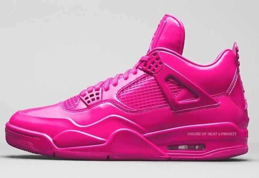 Air Jordan 4 Pink Patent 2019