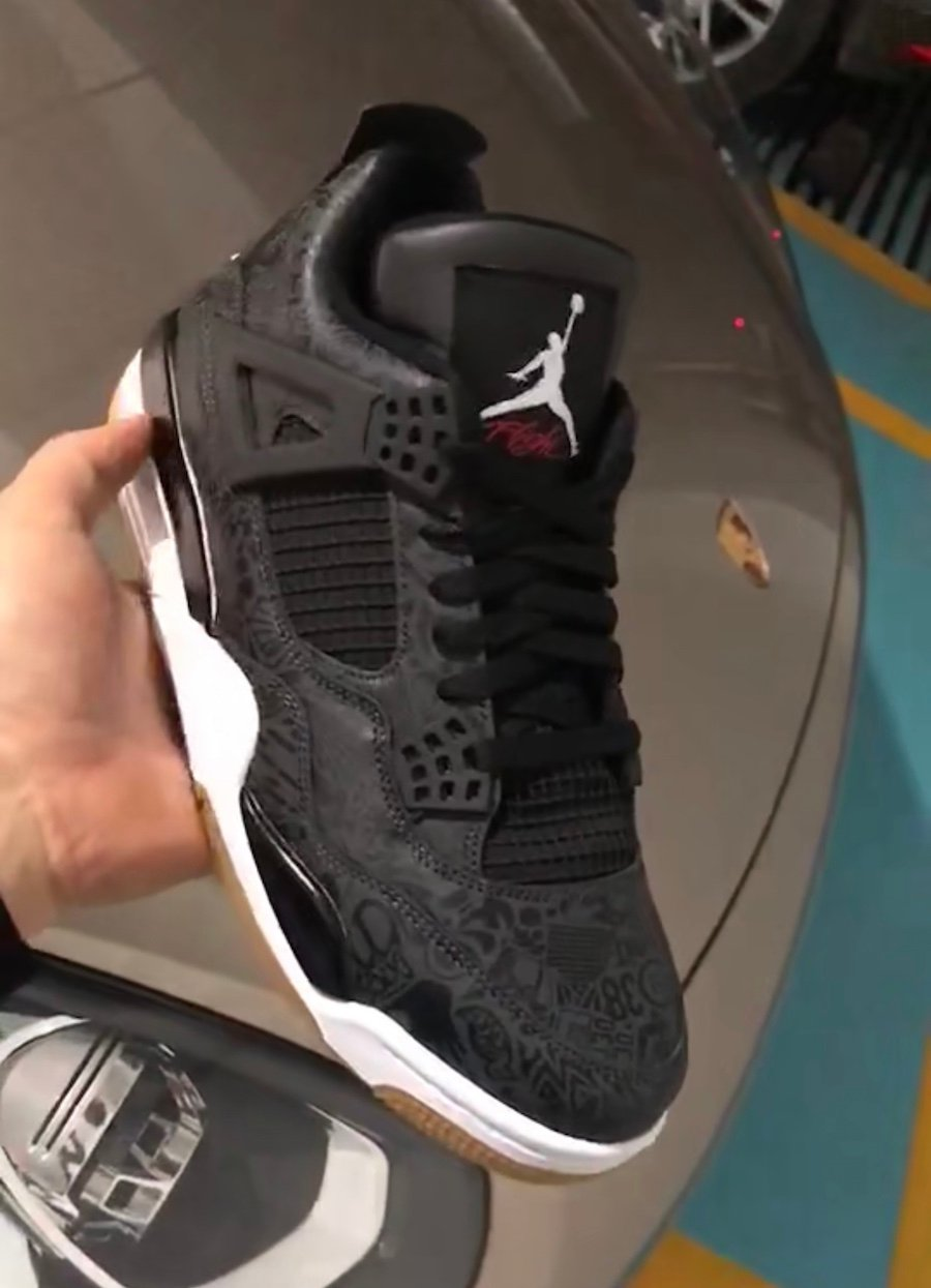 Air Jordan 4 SE Laser Black Gum 2019 Release Date