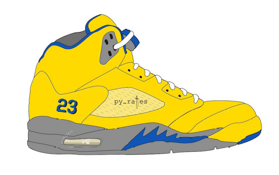 Air Jordan 5 JSP Laney Varsity Maize Varsity Royal Release Date