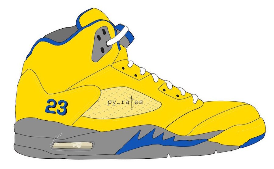 Air Jordan 5 JSP Laney Varsity Maize