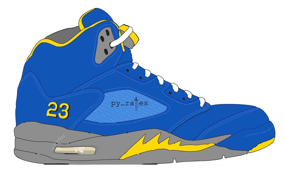 Air Jordan 5 JSP Laney Varsity Royal