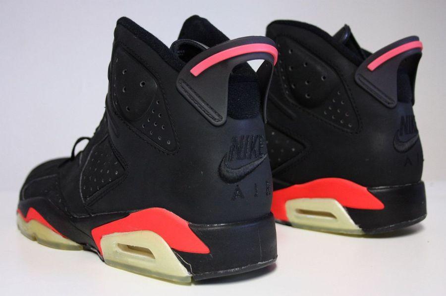 Air Jordan 6 Black Infrared OG 2019 Nike Air