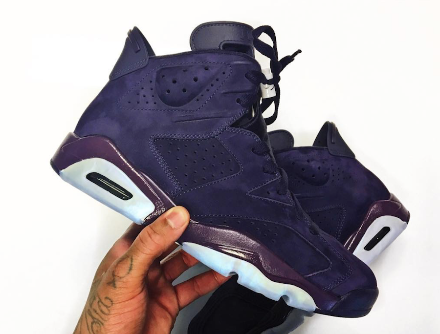 Air Jordan 6 Purple Rain Suede