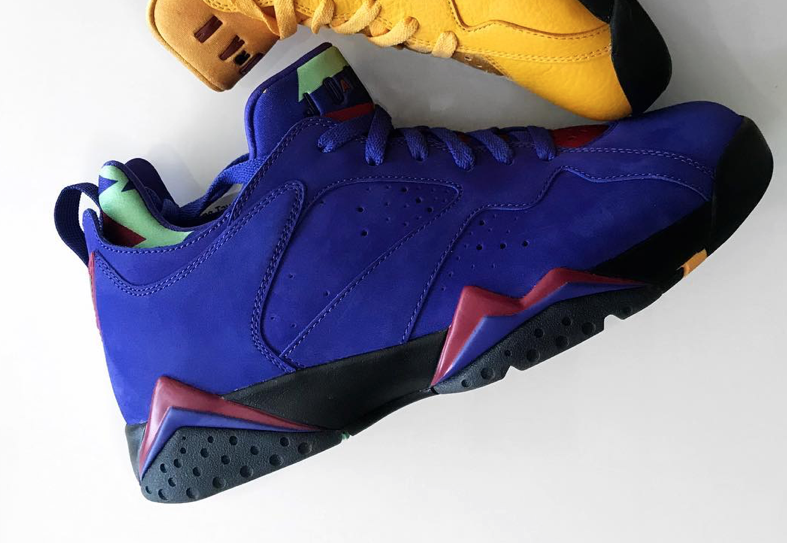 Air Jordan 7 Low Bright Concord Release Date