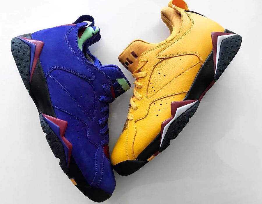Air Jordan 7 Low NRG Taxi Bright Concord Release Date