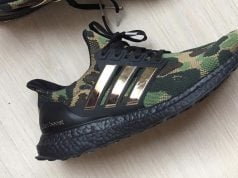 Bape adidas Ultra Boost Green Camo 2019