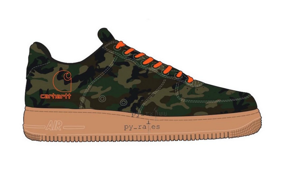 Carhartt Nike Air Force 1 Release Date  244cc7328