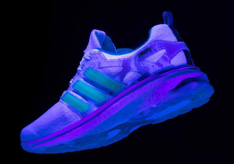 Concepts adidas Energy Boost Shiatsu Blacklight BC0236