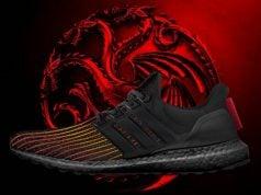Game of Thrones adidas Ultra Boost House Targaryen Dragons