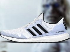 Game of Thrones adidas Ultra Boost White Walkers