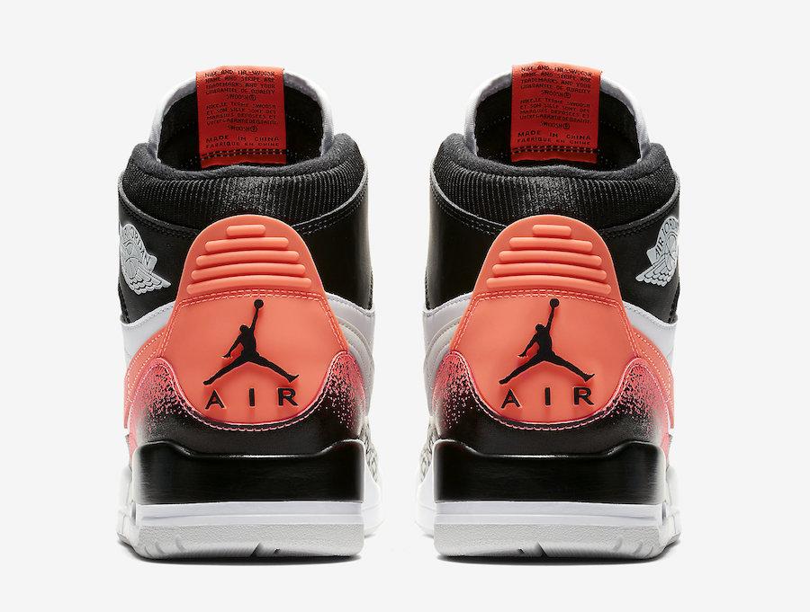 Jordan Legacy 312 Hot Lava AQ4160-108 Release Date Info