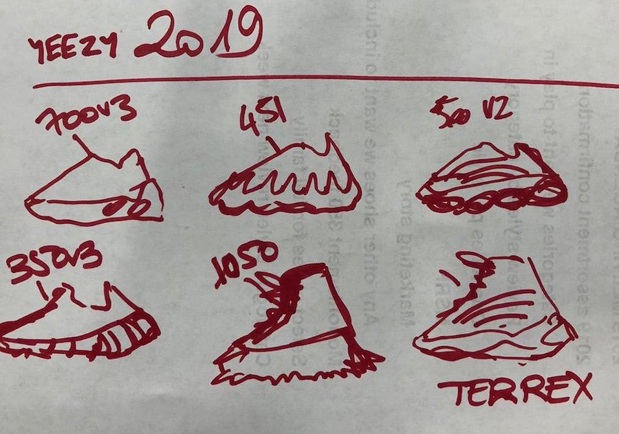 Kanye West adidas Yeezy 2019 Releases