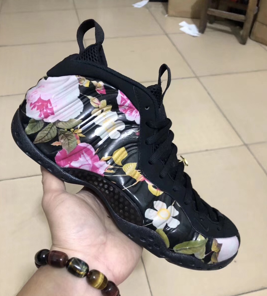 Nike Air Foamposite One Floral 2019 Release Date