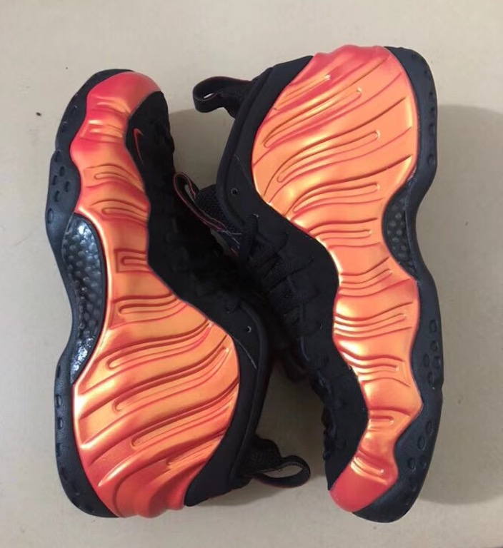 Nike Air Foamposite One Habanero Red Black 314996-603
