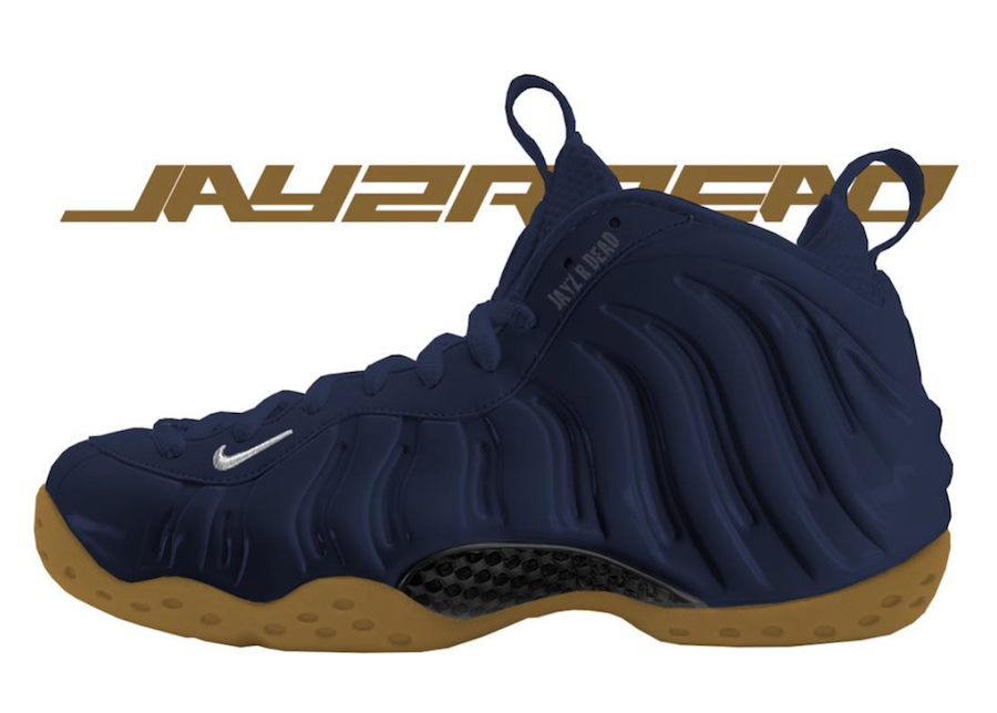 size 40 5f0ed addfc Nike Air Foamposite One Midnight Navy Gum