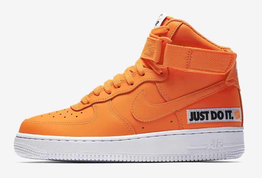 Nike Air Force 1 High Just Do It BQ7925-800