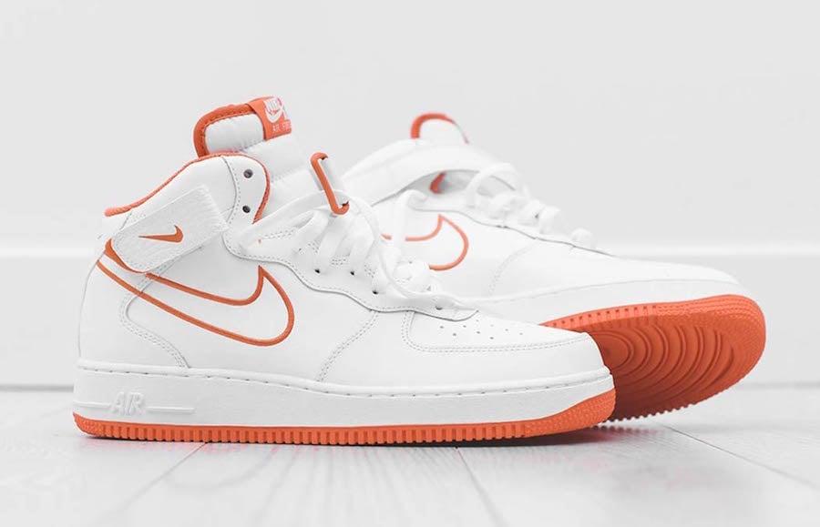 Nike Air Force 1 Mid Terra Orange AQ8650 100 | SneakerFiles
