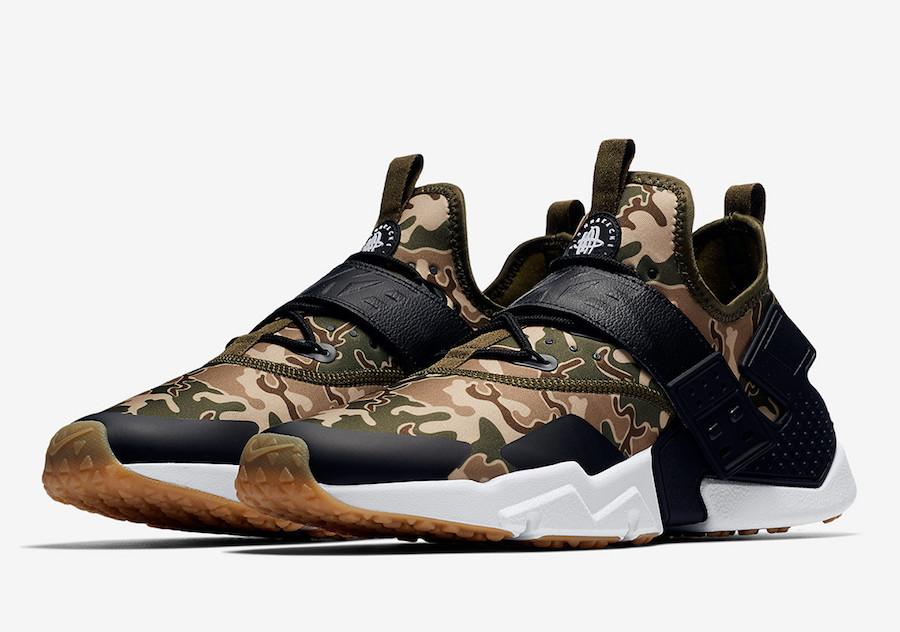 Nike Air Huarache Drift Camo AH7335-301 AH7335-004 | SneakerFiles