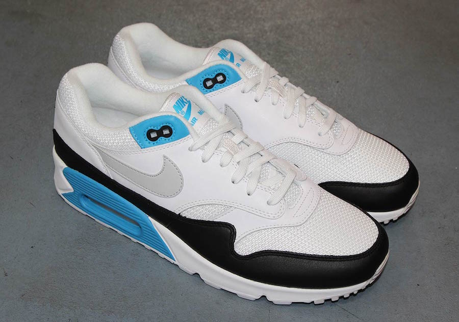 finest selection 6c667 440b2 Nike Air Max 90 1 Laser Blue AJ7695-104