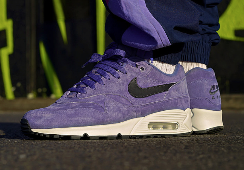 Nike Air Max 90/1 Purple Basalt AJ7695-500