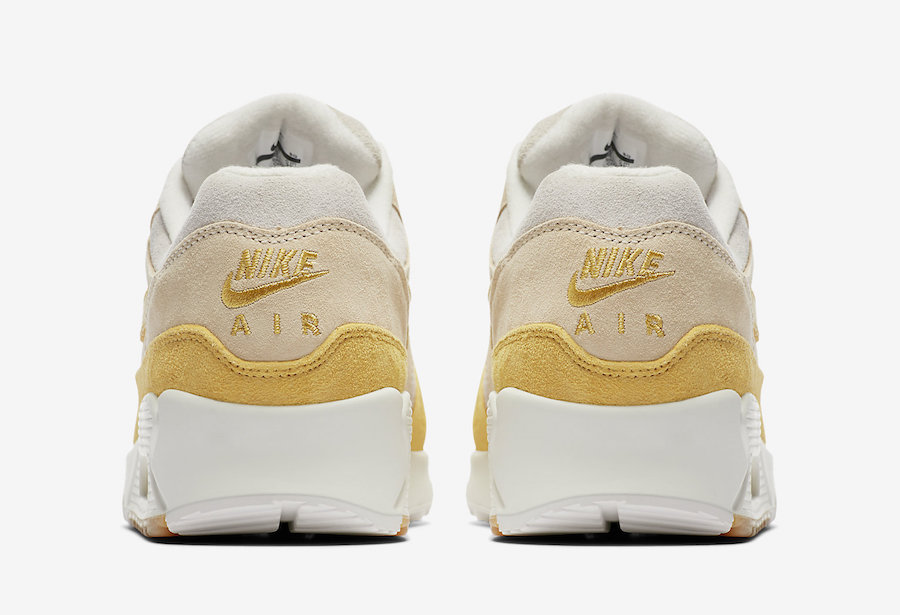 Nike Air Max 90/1 Wheat Gold White Guava Ice AQ1273-800