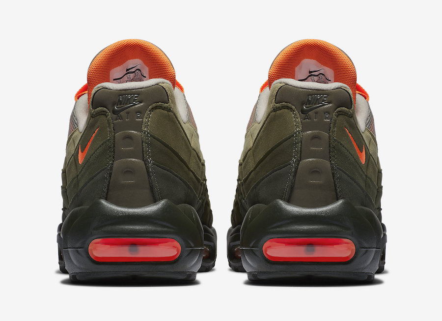 Nike Air Max 95 Neutral Olive Total Orange AT2865-200
