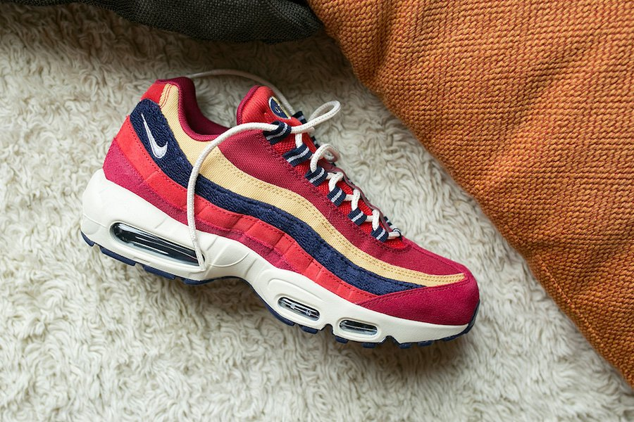 8eacfa3e752e Nike Air Max 95 Premium Red Crush