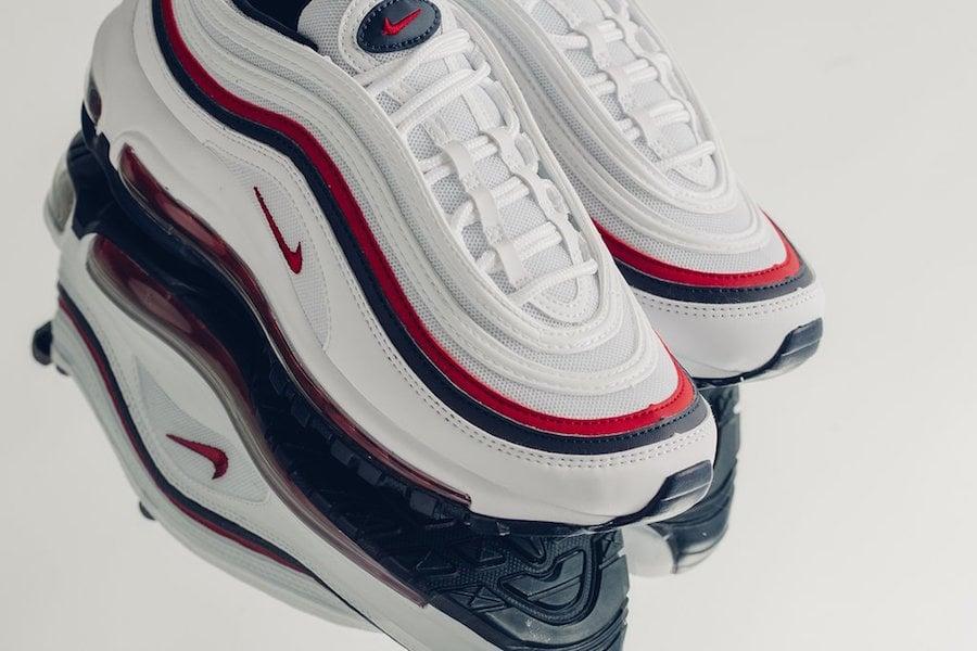 Nike Air Max 97 White Red Blue 921733-102