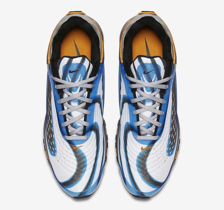 Nike Air Max Deluxe Photo Blue Orange Peel AJ7831-401
