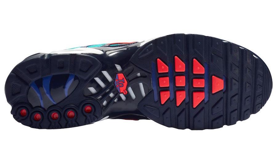 Nike Air Max Plus Hyper Jade Flash Crimson Obsidian