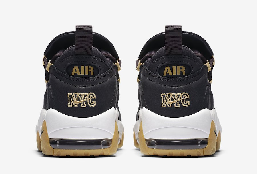 Nike Air More Money Brooklyn Oil Grey Metallic Gold Nike Air More Money Brooklyn Oil Grey Metallic Gold AR5401-001