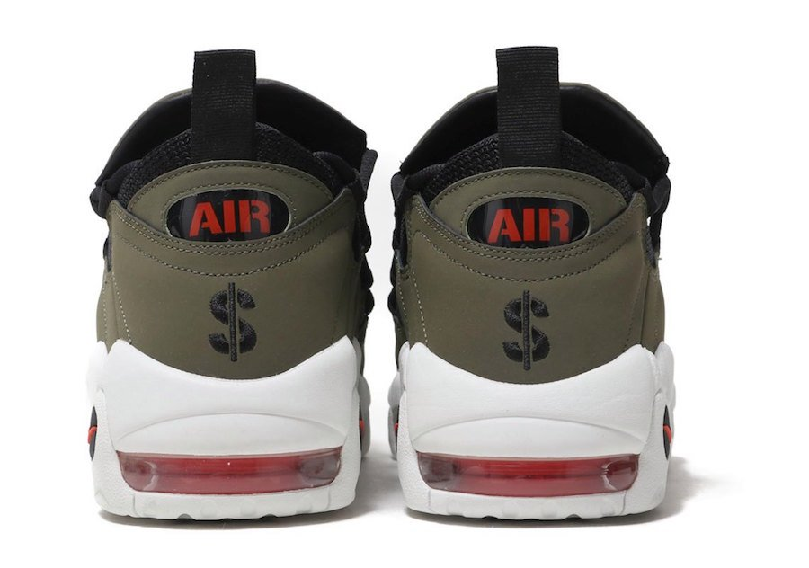 Nike Air More Money Olive AJ2998-200