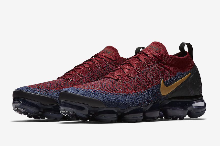 Nike Air VaporMax 2 Olympic Team Red Obsidian 942842-604