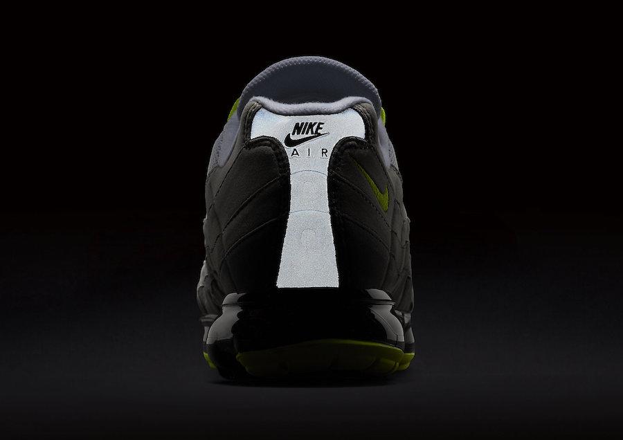 912f0d33b87 Nike Air VaporMax 95 OG Neon AJ7292-001 Release Date
