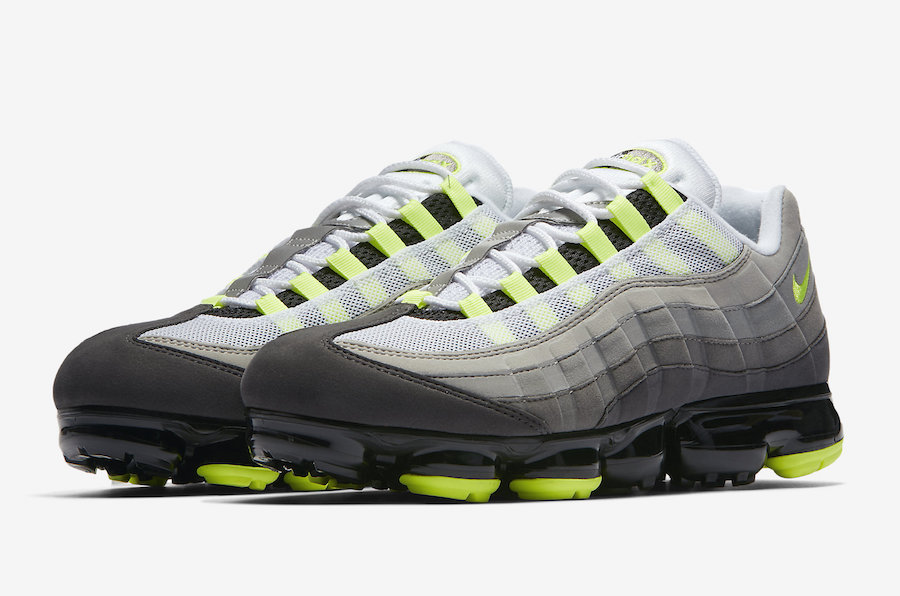 Nike Air VaporMax 95 OG Neon AJ7292-001 Release Date   SneakerFiles